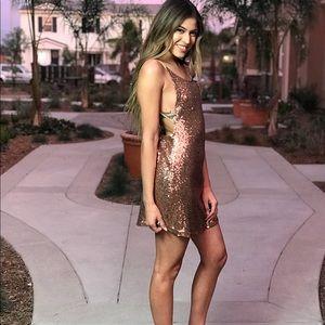 Dresses - Flashy Sequence Dress